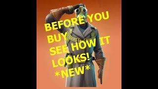 "NEW *BEFORE YOU BUY* ""SKY STALKER"" SKIN in Fortnite!"