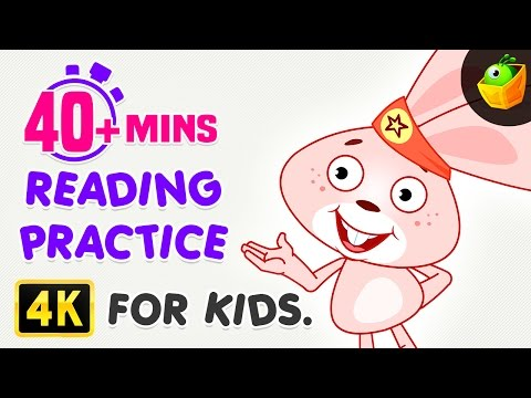 Reading Practice For Kids | 40 Mins Compilation | Rebus Stor