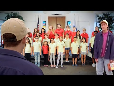 Billy Madison's 'Back to School' Sung by Children's Choir