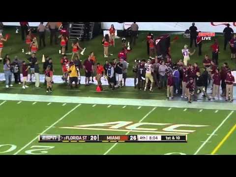 Dalvin Cook - Florida State Football - HB - 2014 Miami Game