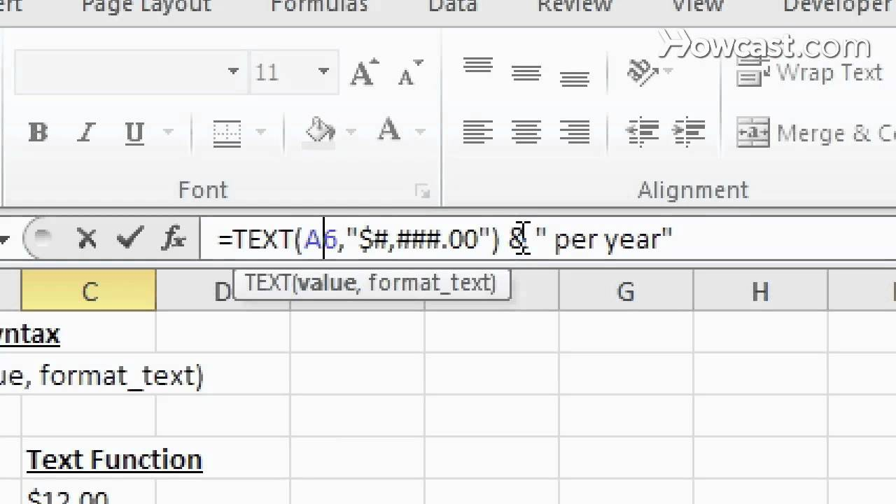 text function excel  What Is the Text Function? | Microsoft Excel - YouTube