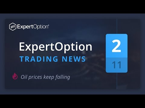 ExpertOption trading news. November, week 2. Oil prices keep falling