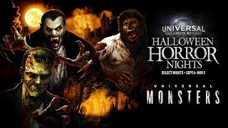 Universal Monsters House Reveal | Halloween Horror Nights 2019