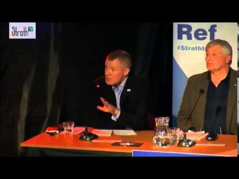 """Willie Rennie - """"Scottish Parliament is a temporary institution..."""""""
