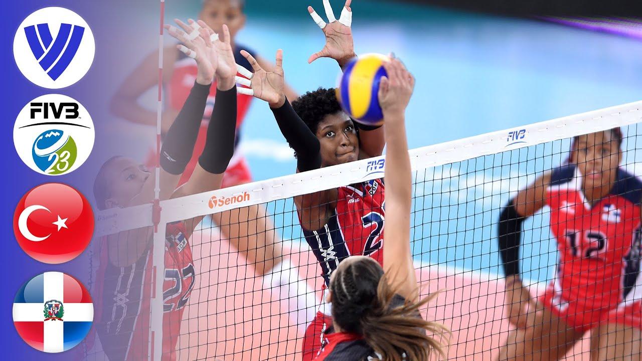 TUR vs. DOM - Full Semifinal | Women's U23 World Championship 2017