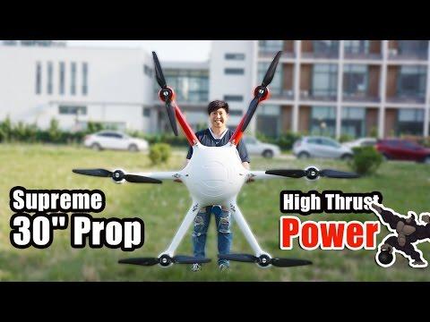3010 High Thrust Propeller on Big drones