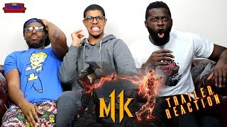 Mortal Kombat 11 – Reveal Trailer Reaction