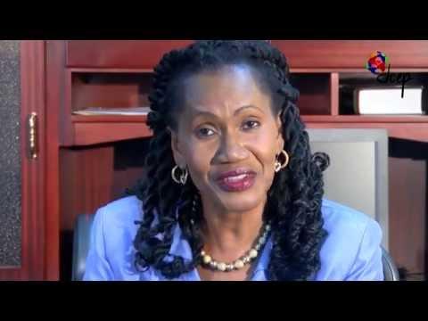 Sen. the Hon. Jennifer Baptiste- Primus brings greetings at the JCEP Awards and Dinner