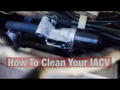 How to Clean a Honda/Acura IAC (Idle Air Control Valve)
