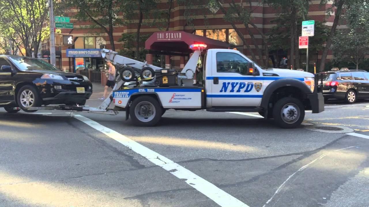 Nyc Towed Vehicle