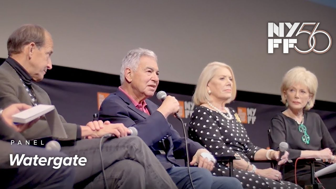 'Watergate' Panel | Charles Ferguson & Special Guests | NYFF56