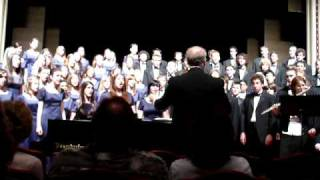 Napa High Choir singing Lonesome Traveler 2008