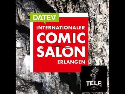 Interviewreihe @ 18. Internat. Comic Salon Erlangen 2/3 - Der  Tele-Stammtisch Special 019 #cse18