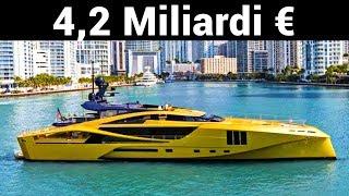 Ecco perchè questo Yacht costa 4,2 MILIARDI di EURO