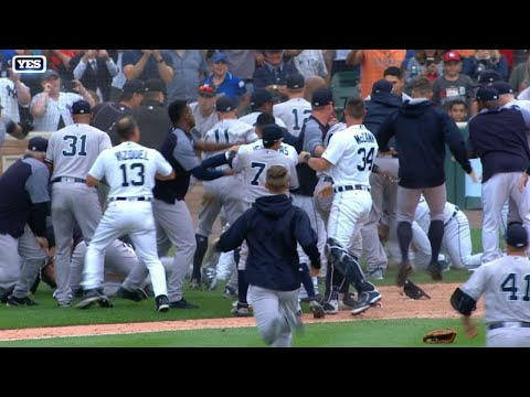 Yankees and Tigers' heated altercation