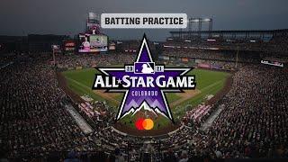 MLB All-Star Game Batting Prac…