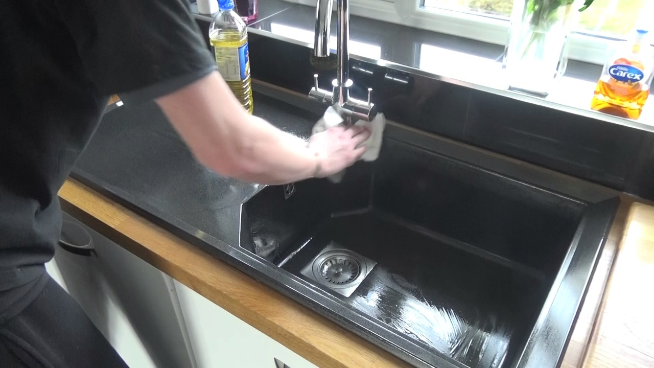 how to get your composite sink looking like new again