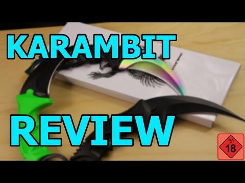 Karambit Knife Review - Karambit Fade, Karambit Night & Karambit Toxic GSPAirsoft german / deutsch