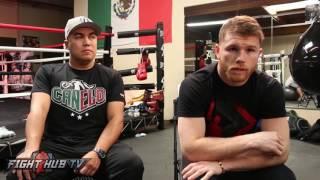 Canelo BLASTS Mayweather vs. McGregor