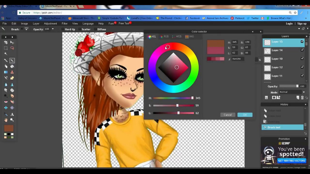 Download how to make a msp  speedpaint on pixlr - msp wildpaws
