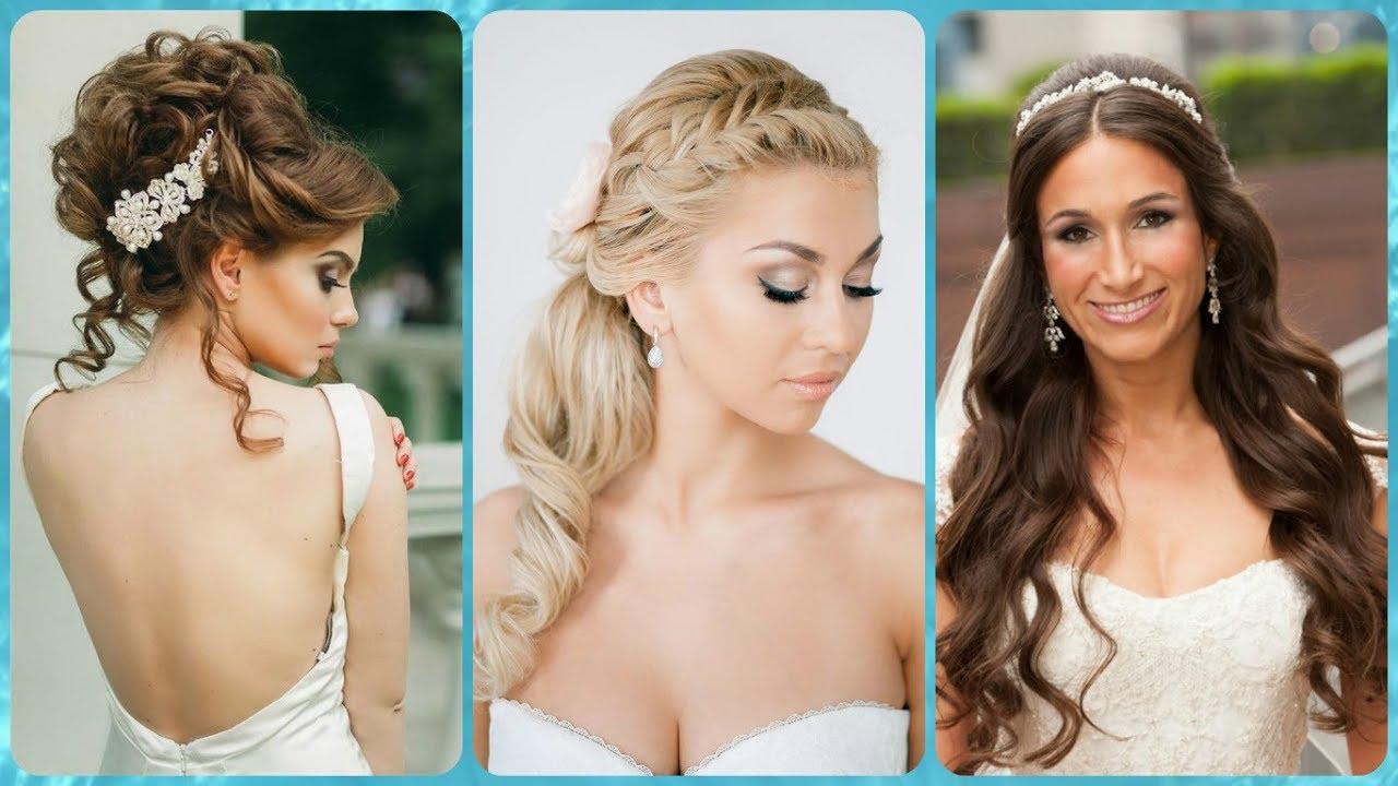 Famoso Top 20 acconciature sposa capelli lunghi raccolti - YouTube OF87