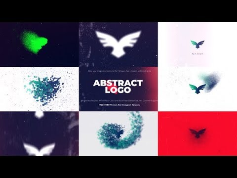 Abstract Logo Animation | After Effects template - Видео