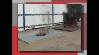 ТЕХНОЭЛАСТ СОЛО РП1(Противопожарные испытания материала ТЕХНОЭЛАСТ СОЛО РП1., 2013-11-25T08:41:01.000Z)