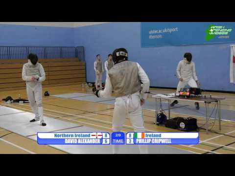 Five Nations Men's Foil, Ireland vs Northern Ireland 2015