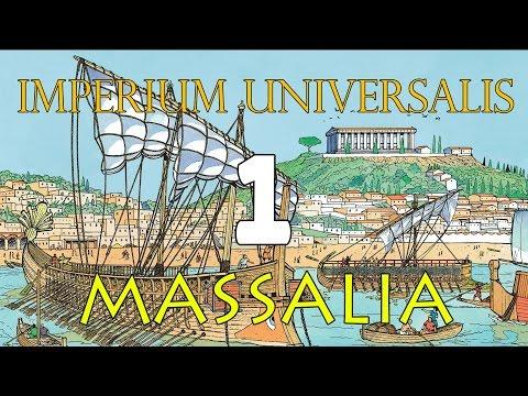 Imperium Universalis(EU4 mod) - Massalia 1