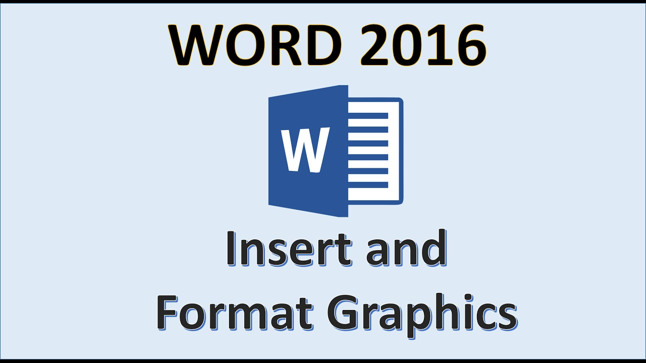 word 2016 insert pictures