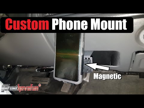 Custom Smart Phone Mount (Bracketron) | AnthonyJ350