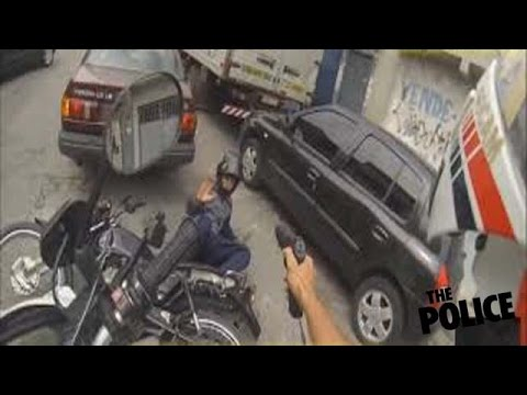 ★ Best Helmet Cam Brazil★Motorcycle Police Chase★Motorcycle Fail ★ № 2