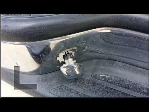 GM License Plate Light Lens Housing Repair  DIY  YouTube