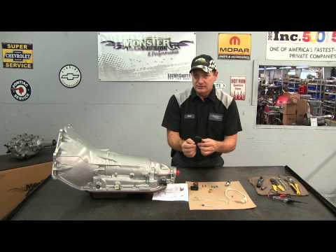 How To Install A 200 4R External Monster Transmission Lockup Kit