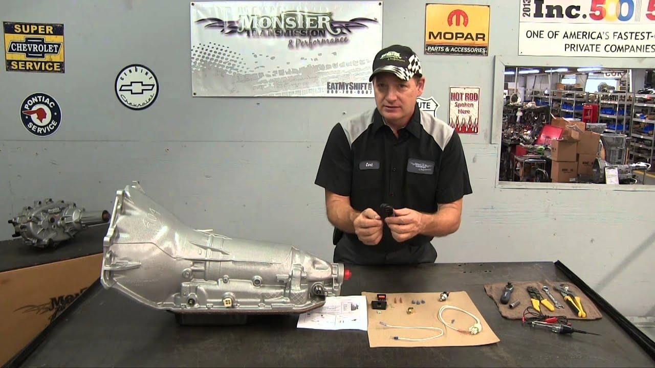 How to Install a 200 4R External Monster Transmission Lockup Kit ...