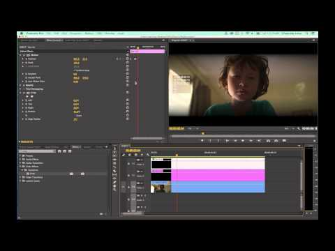Tutorial Adobe Premiere Pro CC - Episode 21 - Eyelids Opening and Focusing
