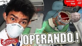 DOCTOR FERNAN AL RESCATE | Operación de cerebro (Surgeon Simulator 2013)