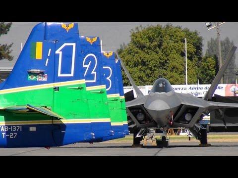 【HD】 Esquadrilha da Fumaça Força Aérea Brasileira FIDAE