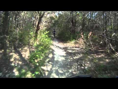 Mountain bike trails in Dallas, TX