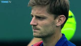 Djokovic, Goffin Miami QFs Highlights