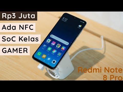 Hands-on Xiaomi Redmi Note 8 Pro, Rp3 Juta Ada NFC!