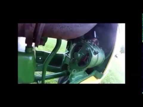 Polarizing the Generator on the John Deere 720 - YouTube