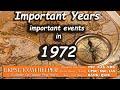 Important events of 1972    Kerala PSC Coaching Class Malayalam#