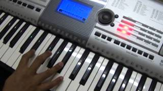 Play in Keyboard - Malayalam - Violet Album - Ethra Rathrikalil Song
