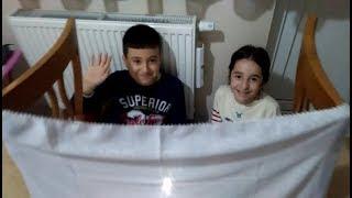 HACİVAT KARAGÖZ ATIŞMASI / GÖLGE OYUNU / GÖSTERİ - Çocuklardan Muhteşem Performans