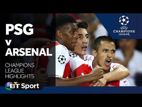Paris Saint-Germain 1-1 Arsenal | Champions League highlights
