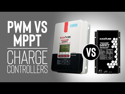 PWM vs. MPPT Charge Controllers