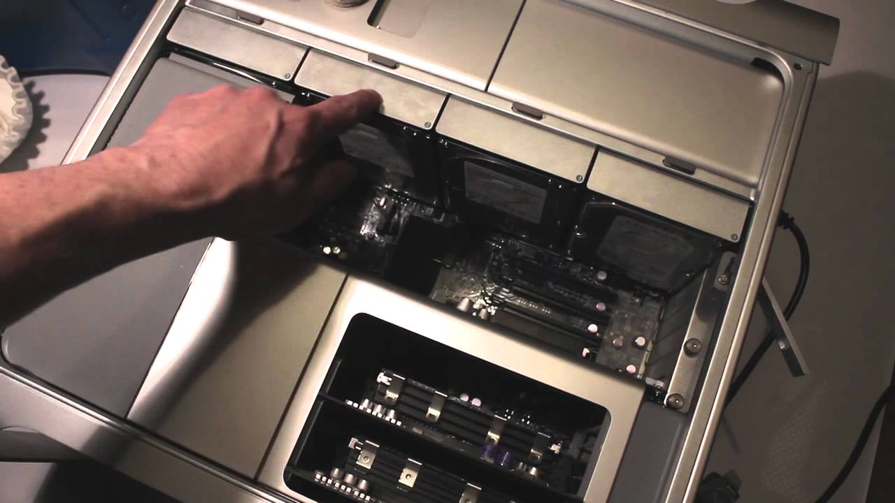 Change The Cpu In A 1st Generation Mac Pro Part 1 Youtube