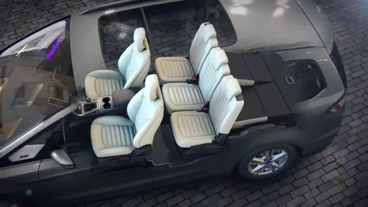 Ford Galaxy Easyfold Seat System Youtube