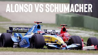 Fernando Alonso vs Micheal Schumacher - 2006